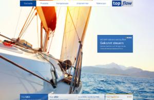 Relaunch - die neue Startseite unter top-flow.de