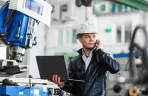 Ein Manufacturing Execution System verbindet Daten aus dem ERP und dem Maschinenpark